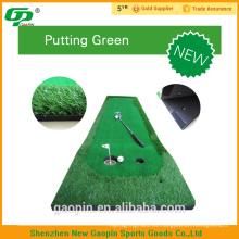Nueva alfombrilla de golf de alta calidad diseño barato putter para poner verde