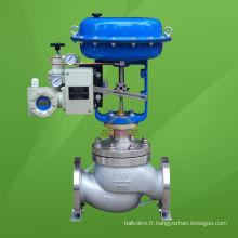 Valve de contrôle de pression pneumatique de type cage équilibrée (HSC)