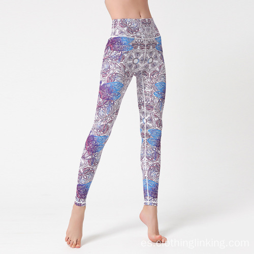 Power Flex Tummy Control Workout Stretch legging