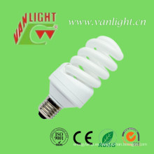 La eficacia alta T3 completo espiral CFL 15W Energey Saver