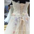 Moderne Simple Élégant Plus La Taille Pas Cher Appliqued Perles Strass Sans Bretelles Alibaba Étagée En Mousseline De Soie Robe De Mariée Blanc