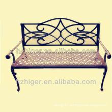 Cadeira de jardim em alumínio
