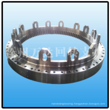 special design large size triple row roller slewing ring bearing from wanda