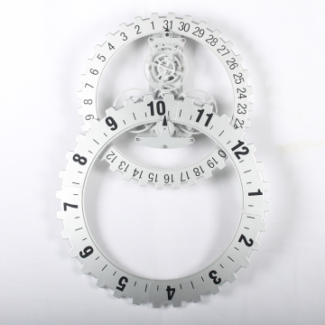 Large Gear Wall Clock en venta