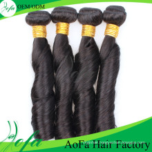 Aofa New Product 100%Unprocessed Virgin Hair Human Remy Hair Extension