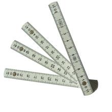 Régua de dobra plástica com 1m / 10folds