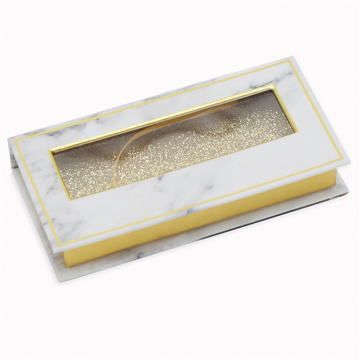 Kotak Eyelash White Magnetic Custom Packaging Case