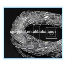 Белый стекло прямоугольник бисер стекло бисер машина