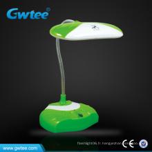 Recycler les lumières de lecture de bureau rechargeables avec interrupteur tactile panneau