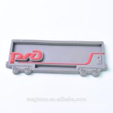 wholesale promotional car shape 3d soft pvc fridge magnet