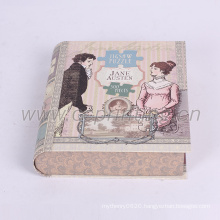 Luxury book box cardboard with your own print