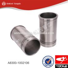Forro do cilindro do motor YC4A A8300-1002106 para yuchai