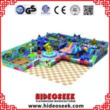 Équipement de jeu d'intérieur d'amusement de thème d'océan pour des enfants