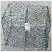 cage de gabion enduit de PVC