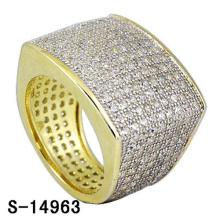 Bague de haute qualité en argent sterling 925 avec diamants