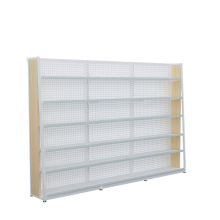 Hot Sale Supermarket Steel Wood Rack