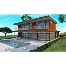 SIPs e LGS Hybrid Prefab House