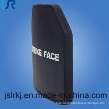 Plaque de blindage balistique NIJ III (carbure de silicium en céramique et PE)