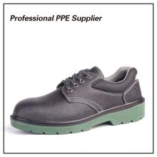 PU инъекция дешевые металлические ботинки безопасности