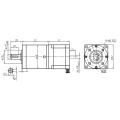 Planetary Gear Stepping Motor 56JPS300K/STS57HD