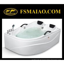 Luxo Dois-Assentos Whirlpool Massagem Acrílico Jacuzzi Banheira de Hidromassagem (MG-206)