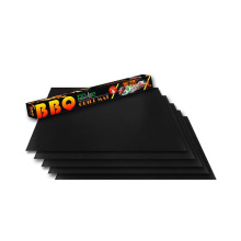 Easy cleaning non-stick bbq grill mats for charcoal electric grills