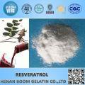 Pure Natural Resveratrol Pulver 20% ~ 99%