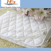 QUEEN SIZE POLY COTTON WHOLESALE FITTED MATTRESS PAD