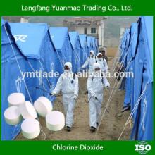 Dioxyde de chlore stabilisé 10% Désinfectant pour l'environnement public