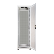 Outdoor integrated telecommunication system cabinet
