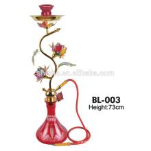 new design elegant flower decoration shisha amy deluxe hookah
