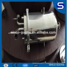 Réservoir de base soudé bobine 304 316 avec couvercle personnalisé (selon votre dessin)
