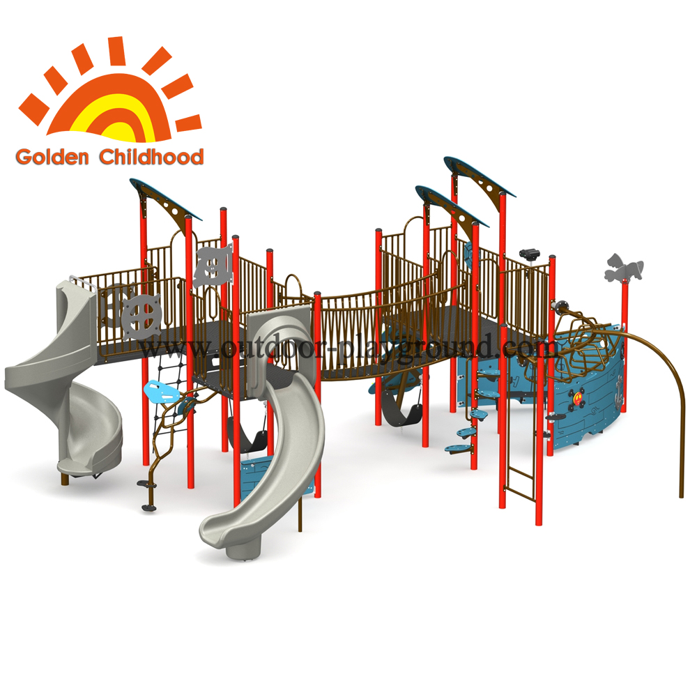 Priate Ship Outdoor Playground