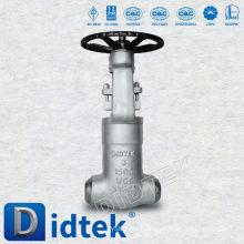 Válvula de compuerta Welt de Didtek