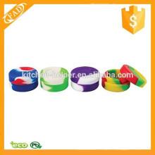Recipiente de silicona antiadherente flexible y flexible profesional