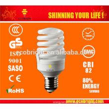 Nouveau! T2 Spirale pleine éconergétiques lampe 23W 8000H CE qualité