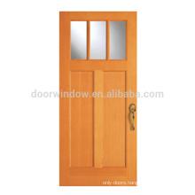 Solid Wood Single Exterior Swing Craftsman Doors exterior single french door