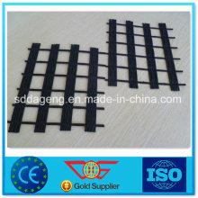 Géogrille de polyester biaxiale pour la construction de routes