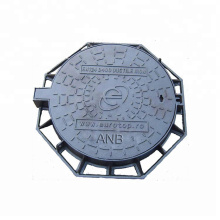 QT500-7 Ductile Iron Manhole Cover and Frame Ductile Iron Manhole Cover