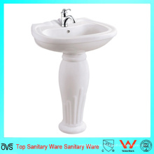 Cuarto de baño barato Pedestal Fregaderos Lavabo