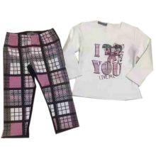 Baby Fleece Sutis en pijamas niños Sq-17107