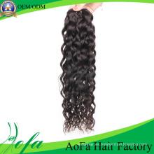Extensión sin procesar del pelo de la Virgen de Remy del cabello humano sin procesar de alta calidad