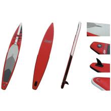 """380cm / 12'5 """"популярный раздувной стенд вверх Paddle доска, доска Sup, доска серфинга, участвуя в гонке доска"""
