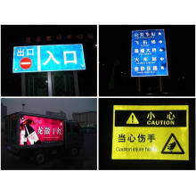Reflective Traffic Sign for Road Safety (reflective workzone film)