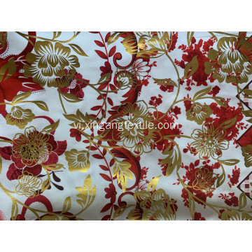 Golden Powder In vải Polyester