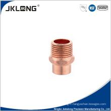 Adaptateur mâle en cuivre J9023 Adaptateur en cuivre de 1 pouce