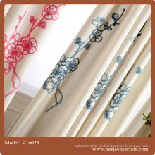 Fancy home Vorhänge Garn gefärbt Plaid Fenster Vorhänge / Vorhang und Kissen Deckel Sets / Vorhänge Textil Europa modern