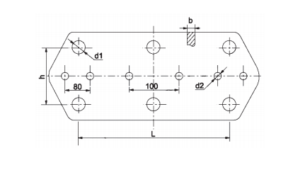 Yoke Plate for Electric Power Hardware