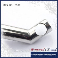 High quality 135 degree suspension clamp glass shelf clamp for glass