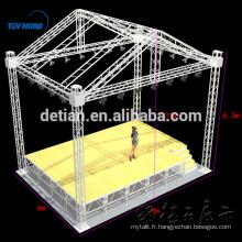 Ferme de scène en aluminium, ferme de toit, système de fermes de toit en cercle # 003